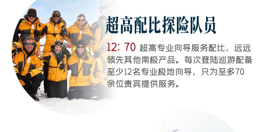穿越南极圈旅行行程亮点