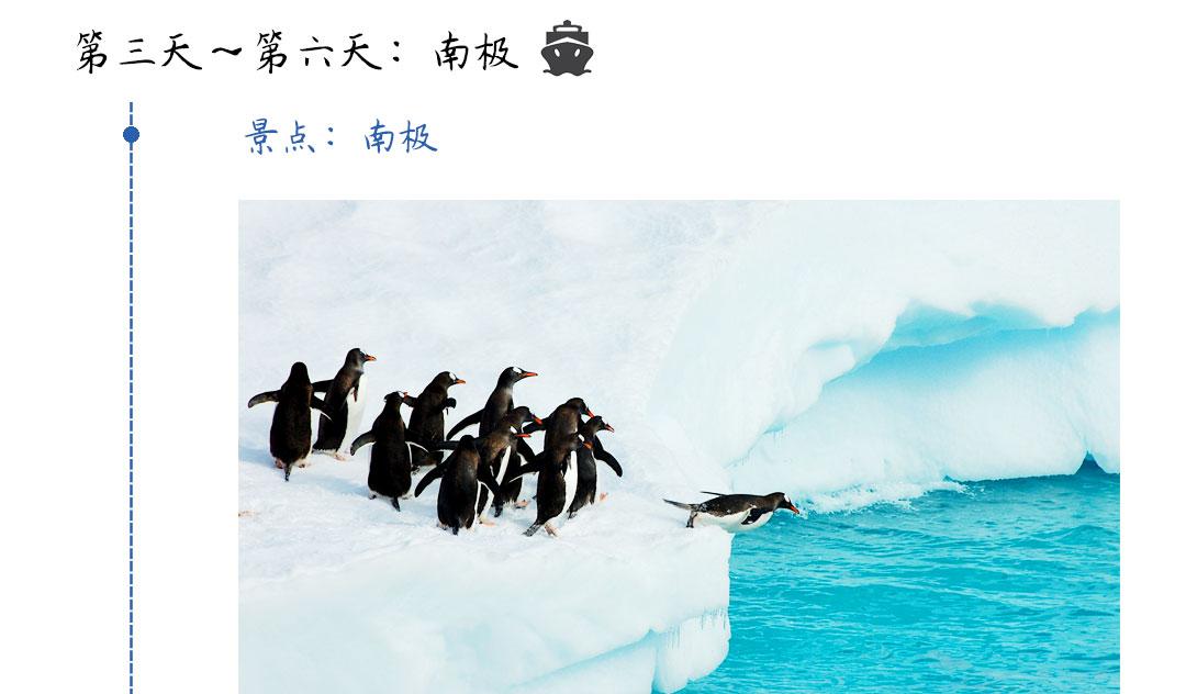 南极旅游行程第三天