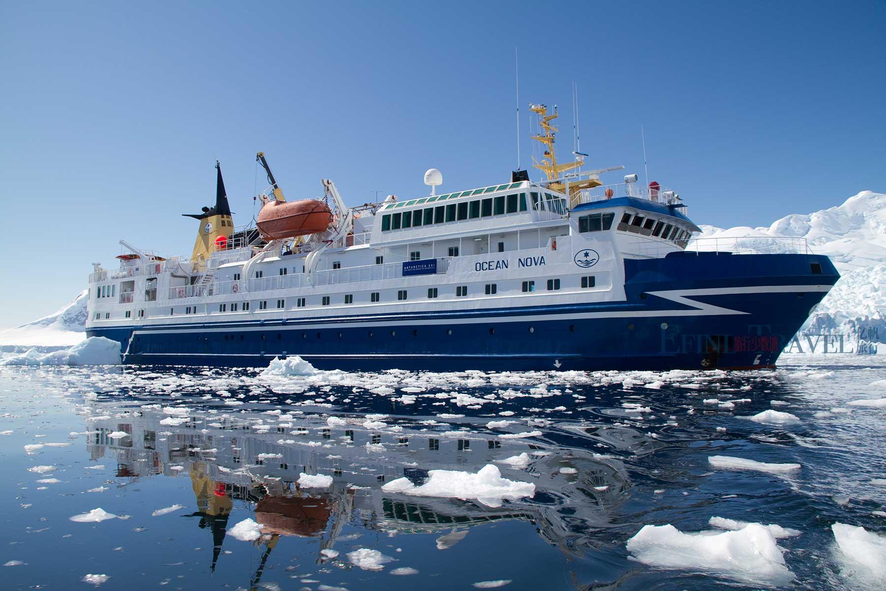 海洋新星号南极小型探险游轮