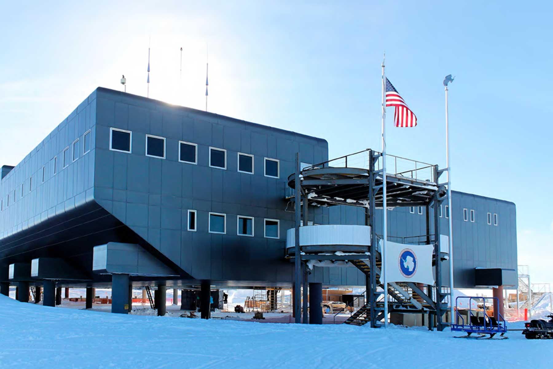 阿蒙森斯科特南极站