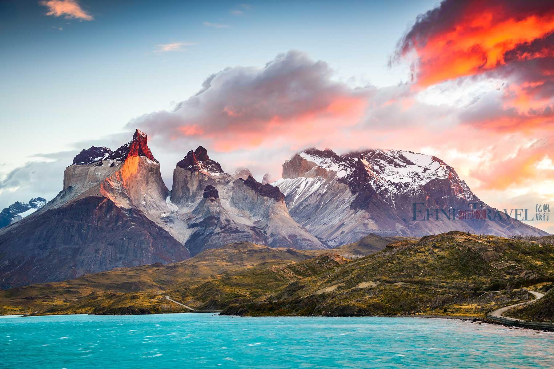 智利百内国家公园徒步旅行