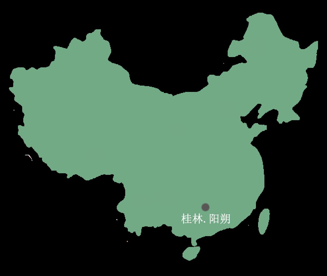 阳朔亲子游地图