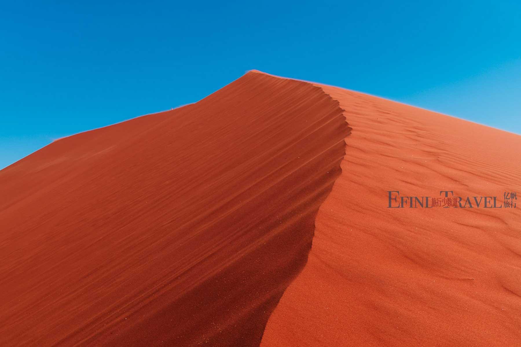 纳米比亚苏丝斯黎红沙漠