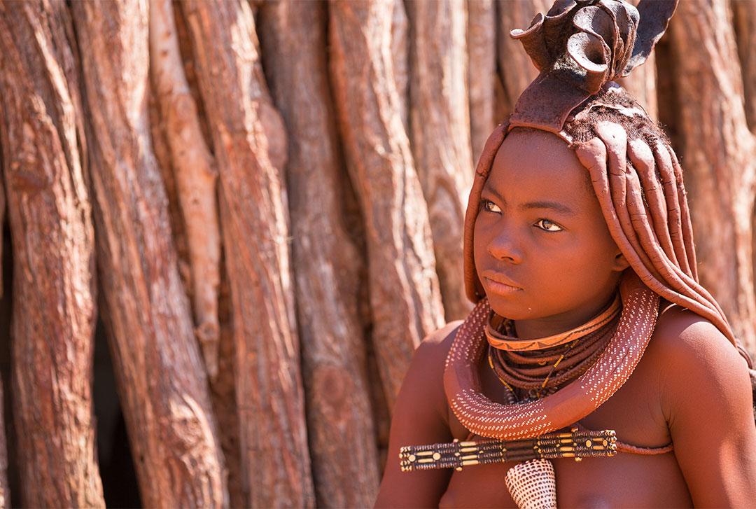 纳米比亚红泥人